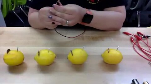 Science Sundays: How to Make a Lemon Battery