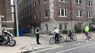 Bicyclists ticketed - Video