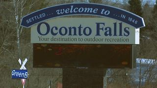 Power outage in Oconto Falls - Video