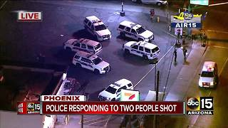 Two people shot near 27th Avenue and Indian School in Phoenix - Video
