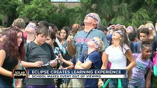 Eclipse creates learning experience - Video
