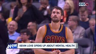 Kevin Love opens up about mental health - Video