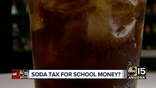 Agree? Poll suggests majority of Arizonans would support a tax on soda - Video