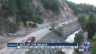 Highway 119 reopens in Boulder Canyon following massive rockslide