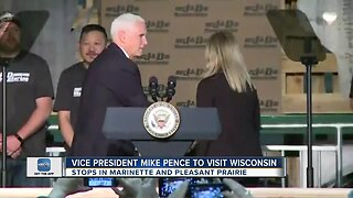 Vice President Mike Pence to Land in Michigan ahead of his visit to Wisconsin