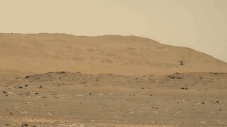 NASA Captures Sound and Video of Ingenuity Helicopter Flight on Mars