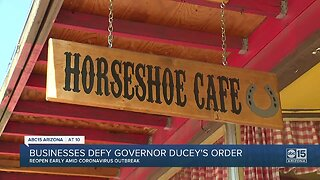 Arizona businesses defy Governor Ducey's order