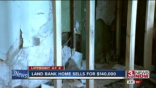 Land Bank home sells for $140,000 4p.m. - Video