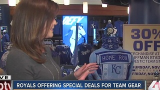 Kansas City Royals offering special deals for team gear - Video