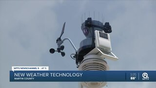 Martin County collects weather data to help plan for future storm events