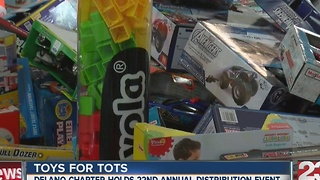 Delano toys for tots - Video