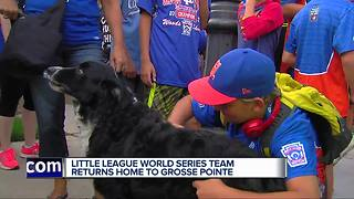 Grosse Pointe Little League team returns home after World Series - Video