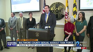 County Executive forms Sexual Assault Investigations Task Force