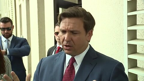 Gov. DeSantis announces sister of Hillsborough coronavirus patient tests presumptive positive