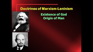 Video Bible Study: Marxism / Communism or the Gospel of Jesus - Part 1