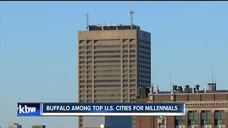 Buffalo ranked 12th among cities where millennials are moving - Video