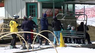 Skiing still going strong in Ellicottville - Video