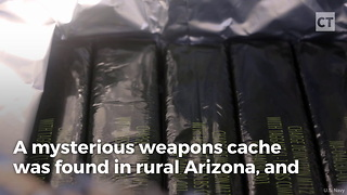 War Munitions Cache Found in US Backcountry - Video