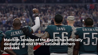 Leader Of Nfl Anthem Protests Announces He's Ending It - Video