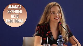 Amanda Seyfried talking about her cute dog is all of us - Video