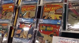 Thieves steal comic book collection from Las Vegas storage unit