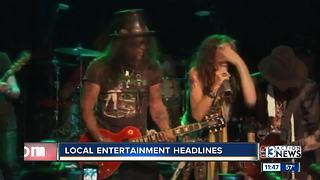 Local entertainment headlines - Video