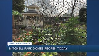 Mitchell Park Domes Reopen