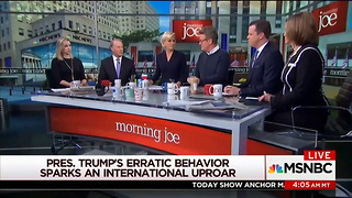 MSNBC Host Now Suggesting Trump Is In 'Early Stages of Dementia' - Video
