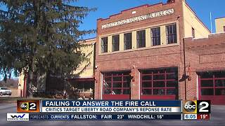 Critics target Liberty Road Fire Company - Video