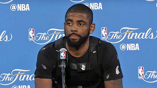 Kyrie Irving Reveals Which NBA Legend Kept Him from FIGHTING LeBron - Video