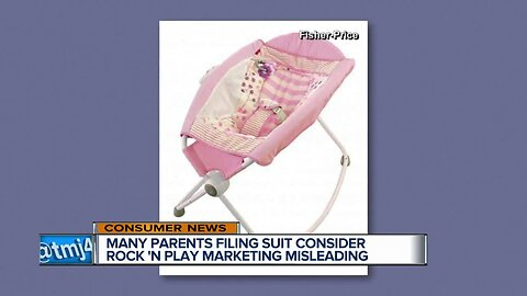 Many parents filing suit consider Rock 'N Play marketing misleading