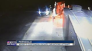Ferndale Wendy's customers escape carjacking attempt - Video
