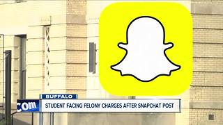 Buffalo teen posted video on Snapchat of another student urinating in school - Video