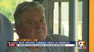 Bus driver-turned-hero in Hebron - Video