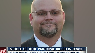 Pasco school principal killed in logging truck accident - Video