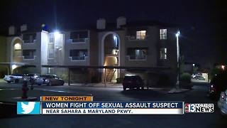 Police:  Sexual assault suspect jumped out of closet, tried to attack woman - Video
