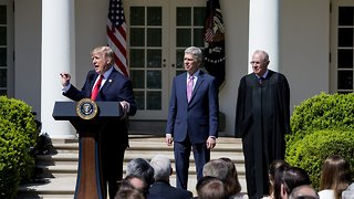 President Trump Narrows Supreme Court Nominee List - Video