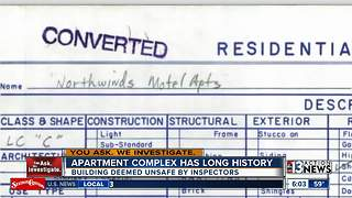 Troubled North Las Vegas apartment building has long history - Video