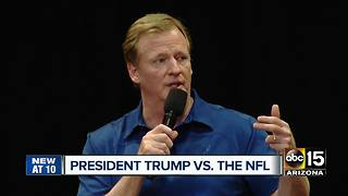 Cardinals coach responds to President Trump's call for some NFL player to be 'fired' - Video