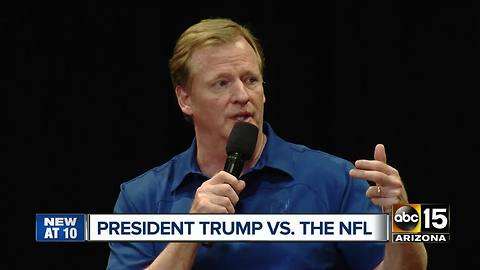 Cardinals coach responds to President Trump's call for some NFL player to be 'fired'