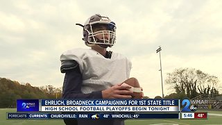 Ehrlich, Broadneck campaigning for first state title