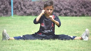 Boy, Nine, Who Took Up Gymnastics After Fleeing Taliban Sets New Breakdancing World Record – Performing 46 'helicopter Spins' In 30 Seconds