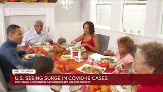 The US is seeing a resurgence of Covid-19 cases. Small household gatherings are helping drive it, CDC chief says
