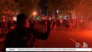Protests turn violent in D.C. and Minneapolis
