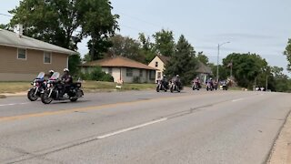 Procession for fallen Lincoln police officer
