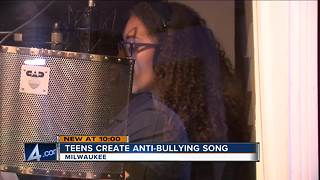 Milwaukee teens make anti-bullying music video - Video