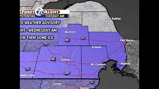 Major winter storm moves in