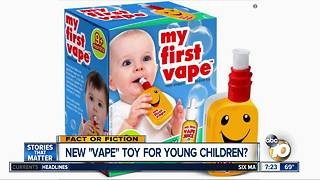 New vape toy for babies? - Video