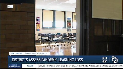 San Diego County school districts evaluate pandemic learning loss