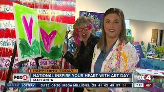 Celebrate National Inspire your Heart with Art Day - Video